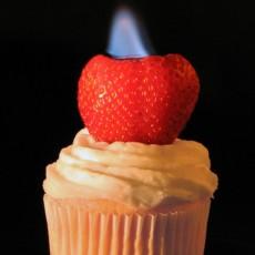 Flame Small Cake