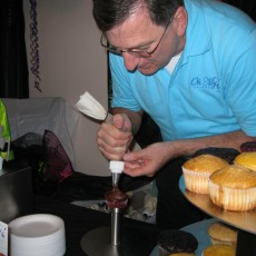 Cupcake designing