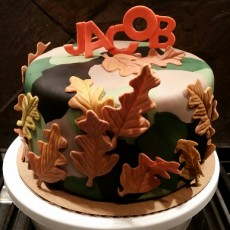 Jacob's 20th Birthday Cake