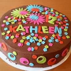 Kathleen's 12th Birthday Cake