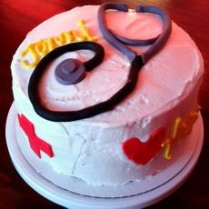 Nurse's Birthday Cake