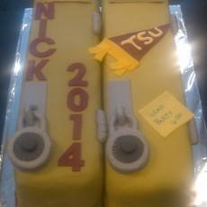 Nick's Graduation Cake 2014